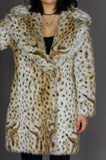 One More Chance Vintage - Vintage Les Savages Faux Fur Leopard Jacket