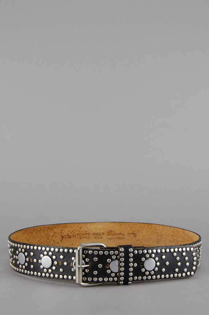 One More Chance Vintage - Vintage The Rising Sun Studded Leather Belt