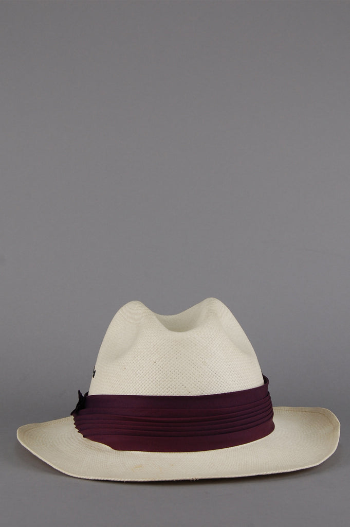 One More Chance Vintage - Vintage Park Plaza Panama Straw Hat
