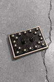 Punk Heavy Metal Studded & Spiked Leather Belt Buckle - One More Chance Vintage