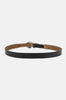 Feelin' Alright Skinny Western Leather Belt