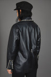 One More Chance Vintage - Punk Rock Lies Vintage Wilson's Studded Leather Biker Moto Jacket