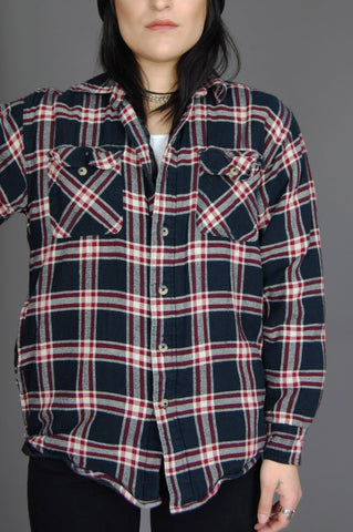 All Or Nothin' Wrangler Plaid Flannel Jacket