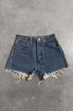 Vintage Wrangler Denim Cut Off Shorts in Blue - Size 24 - One More Chance Vintage