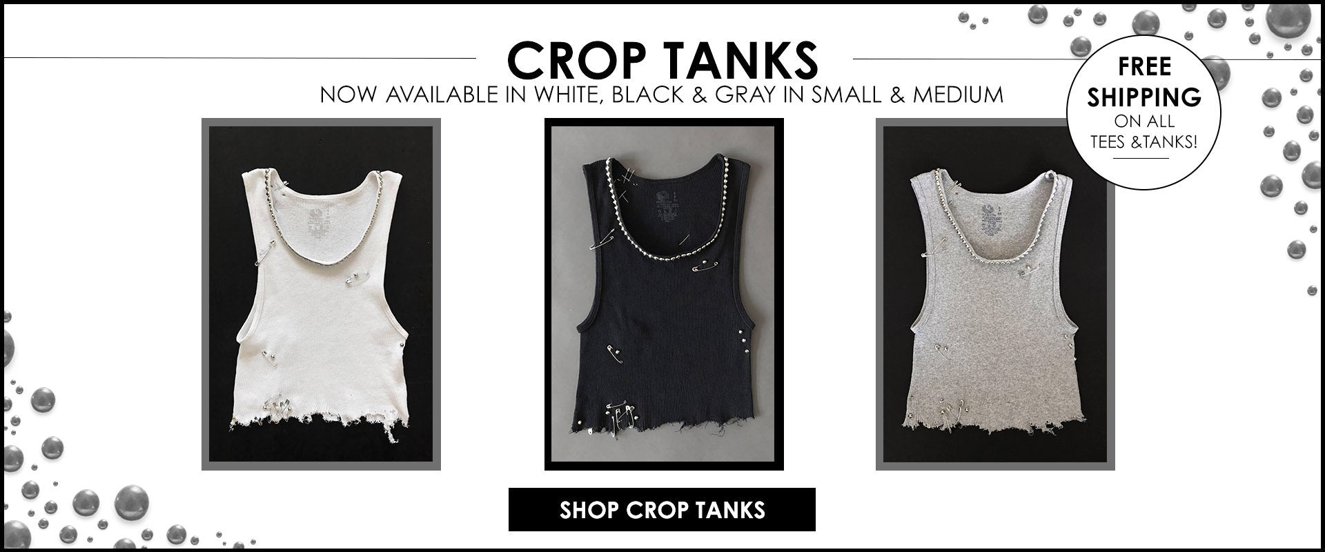 One More Chance Vintage - Badass Vintage & Handmade Studded Rock N Roll Cutoff Distressed Tank Tops