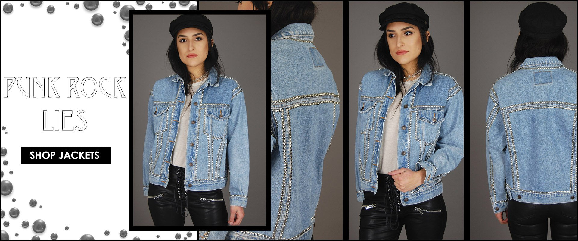 One More Chance Vintage - Badass Vintage & Studded Rock N Roll Clothing & Accessories