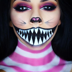 Halloween Makeup Whats On Trend For 2019 - Cheshire-cat-makeup-tutorial-you