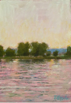 """River at Dusk"" by Pattee Hipschen"