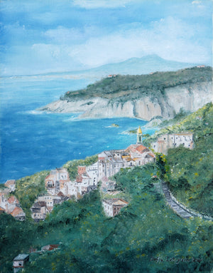 """ A Town Near Sorrento"" by Zofia Lategano"