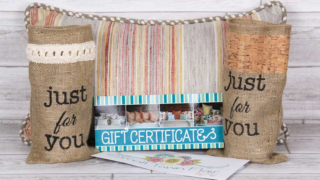 Small Town Flair Gift Certificates
