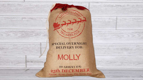 Large Personalized Santa Sack