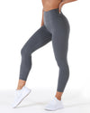 7/8 Aura Leggings - Cloud Grey