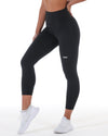 7/8 Control Tights - Black