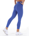 7/8 Touch Scrunch Tights - Azure