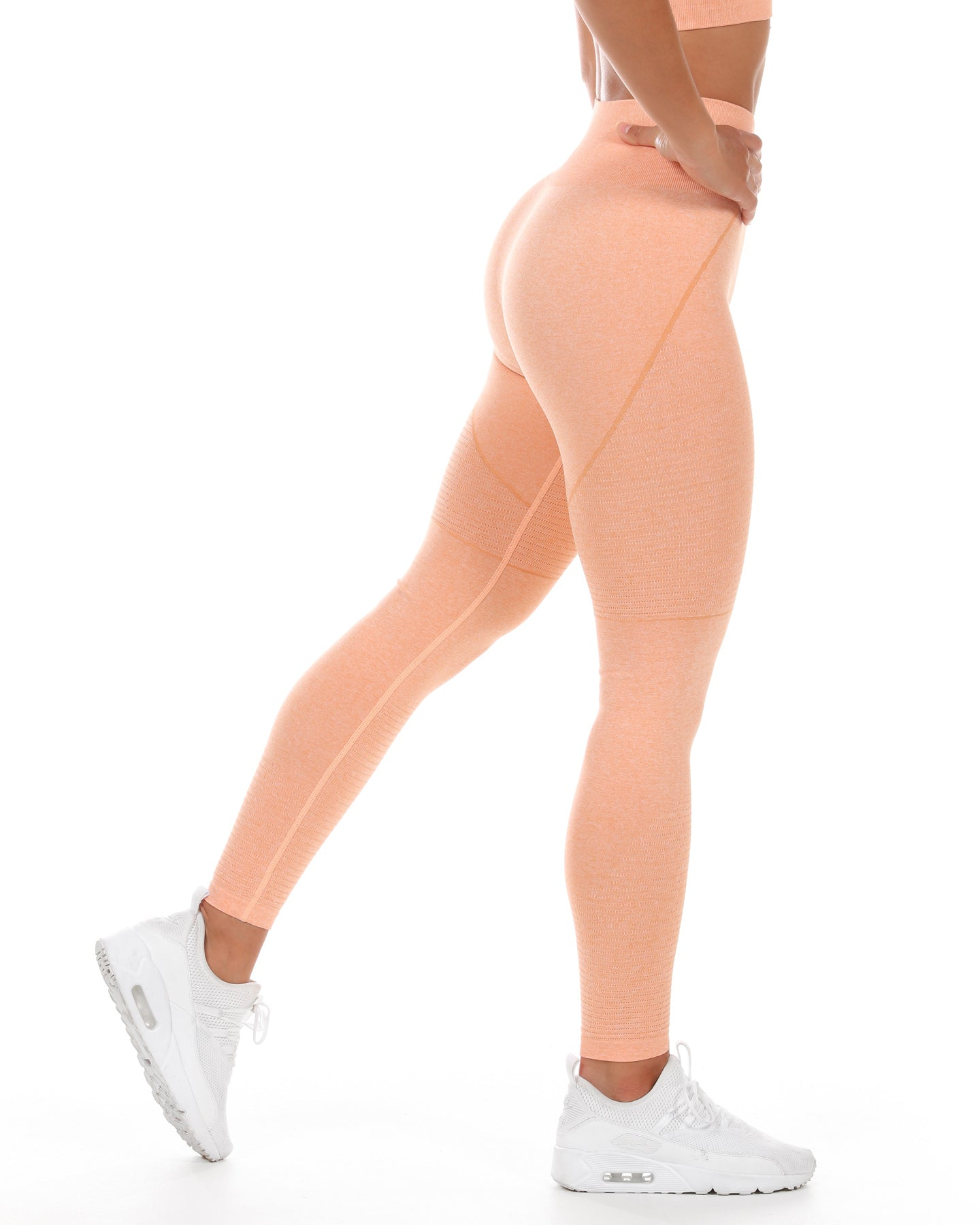 Elite Seamless Leggings - Melon