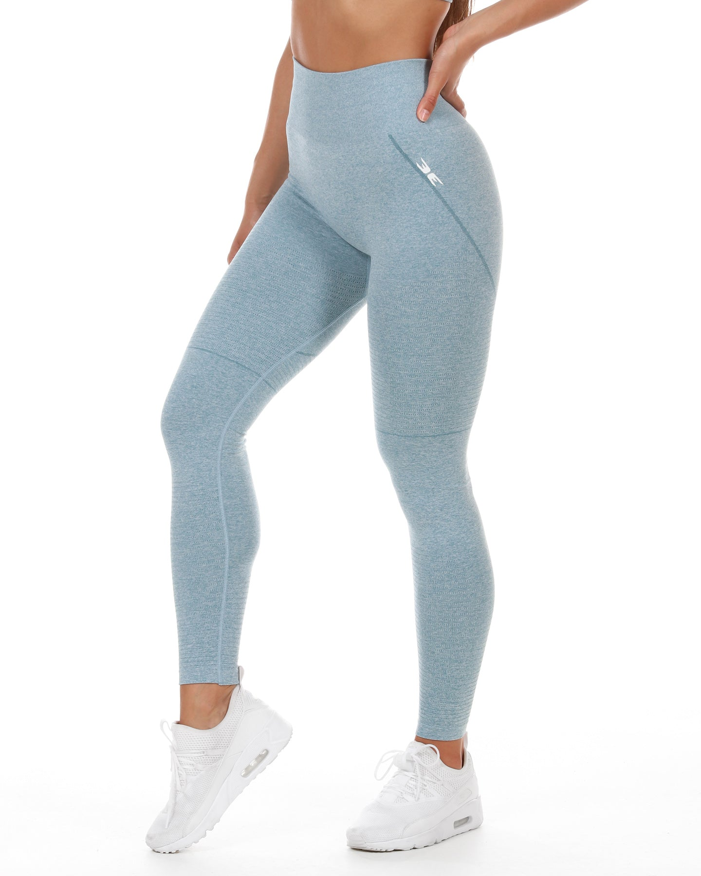 Elite Seamless Leggings - Dusty Teal