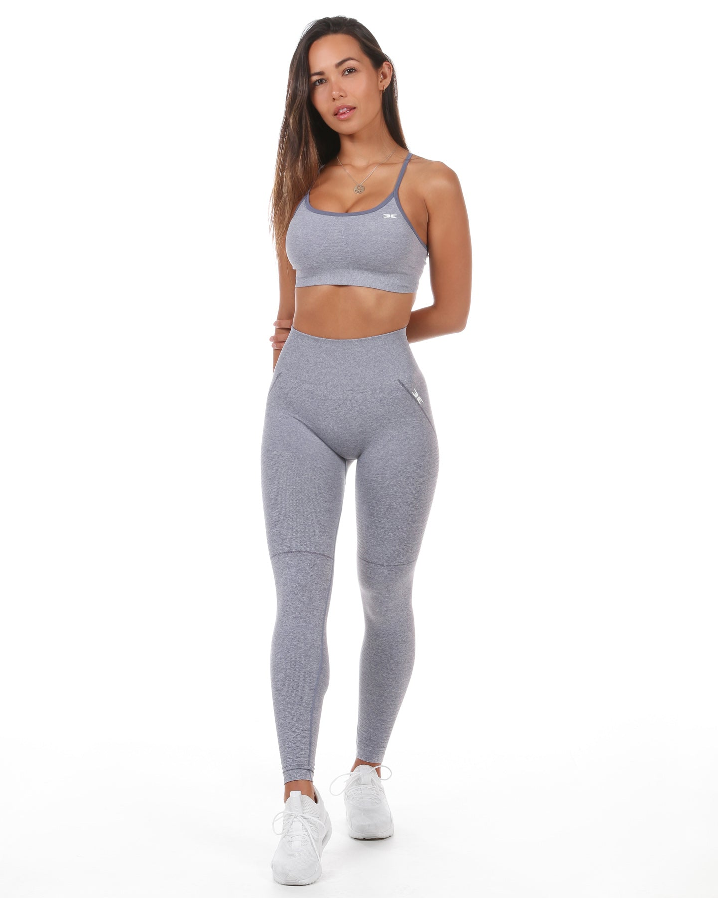 Elite Seamless Bra - Grey Mist