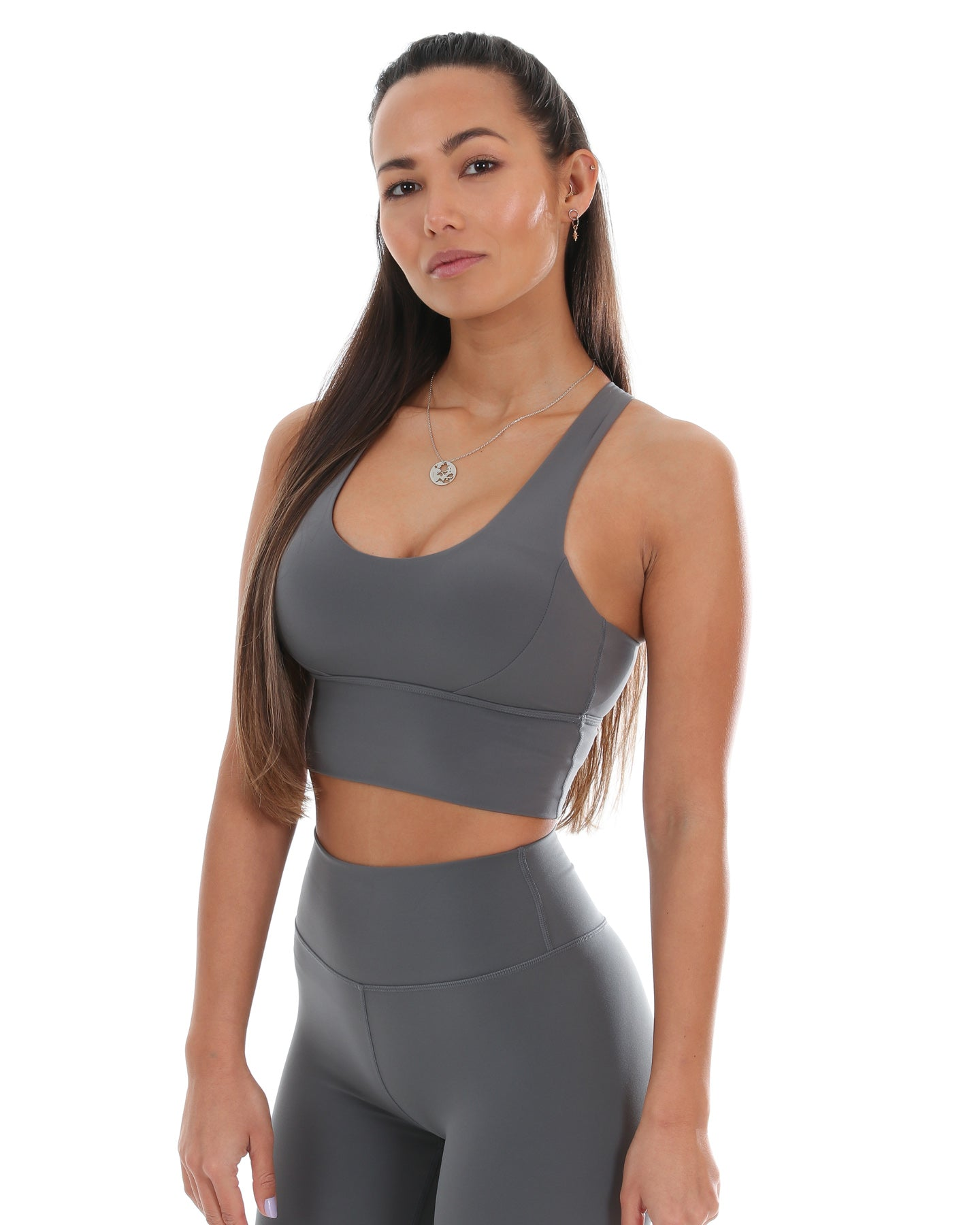 Aura Bra - Cloud Grey