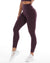 7/8 Aura Leggings - Wine