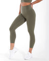 7/8 Aura Leggings - Khaki