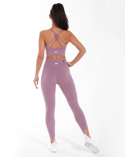 7/8 Aura Leggings - Lilac