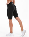 Scrunch Bike Shorts - Black