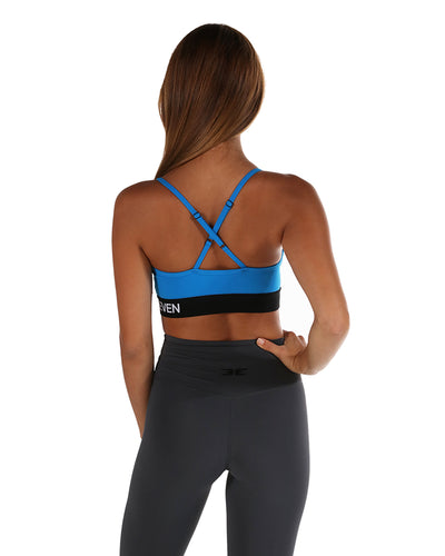 Elite X Sports Bra - Electric Blue