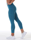 7/8 Control Ascend Tights - Teal