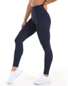 'Feel the Burn' Tights - Navy