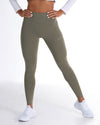 EE Touch Tights - Dusty Khaki