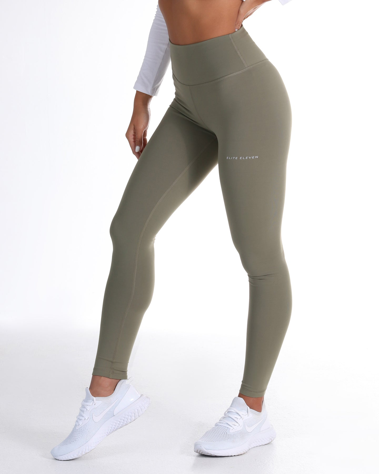 85687f29a41b2d EE Touch Tights - Dusty Khaki - Elite Eleven