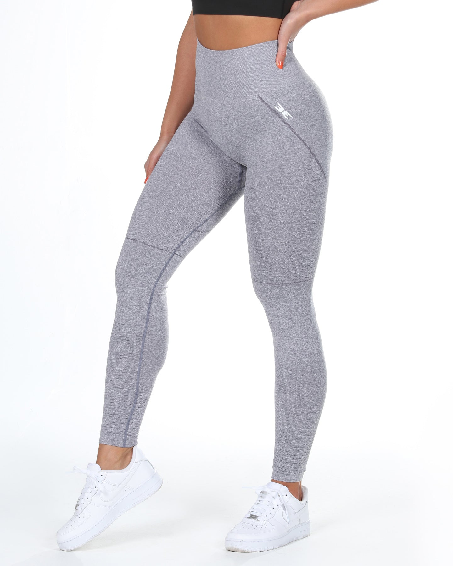 Elite Seamless Leggings - Grey Mist