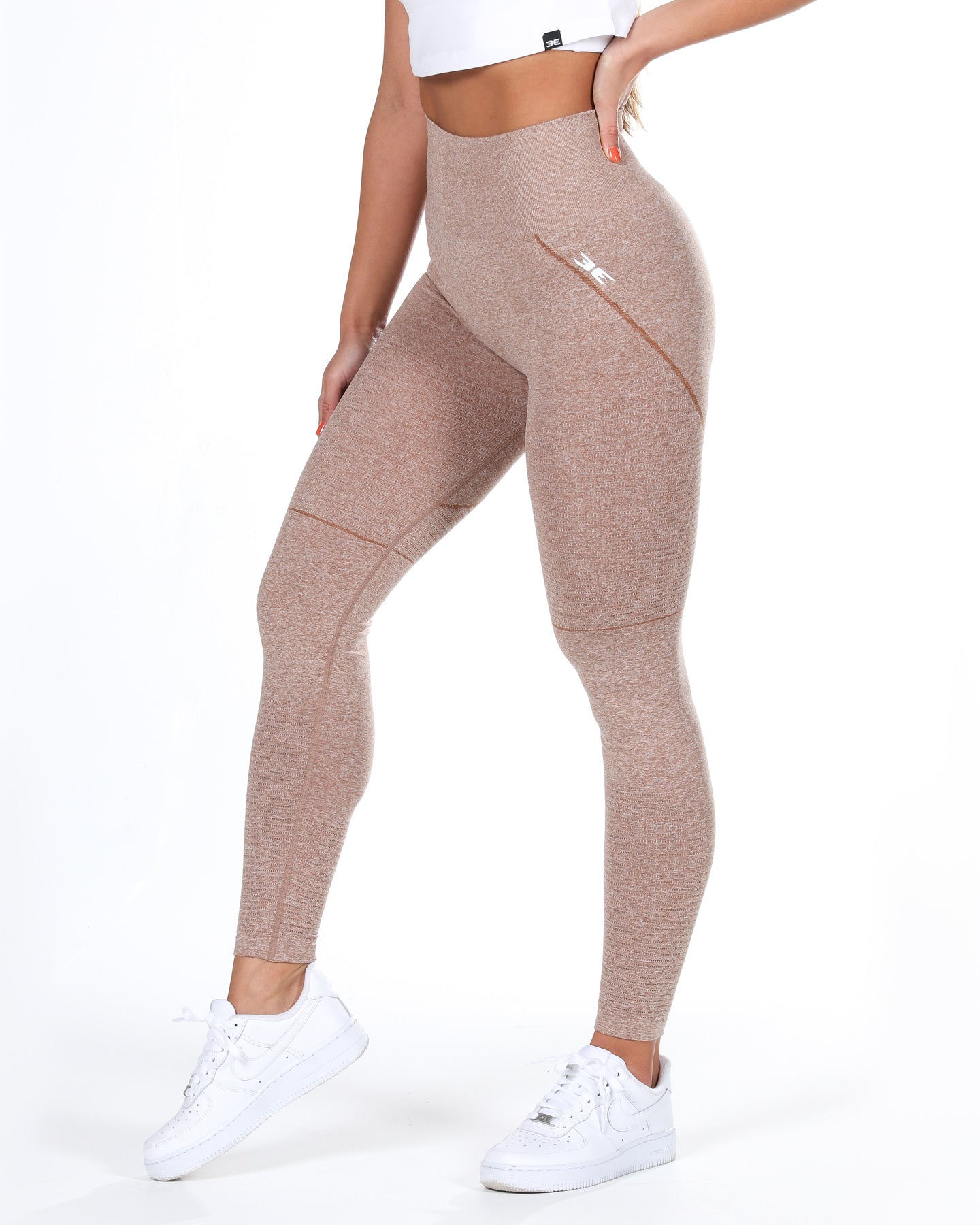 Elite Seamless Leggings - Caramel