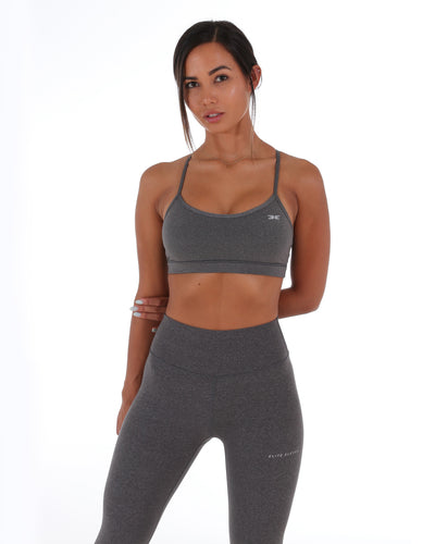 Excite Sports Bra - Graphite