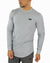 Long Sleeve Scoop - Grey