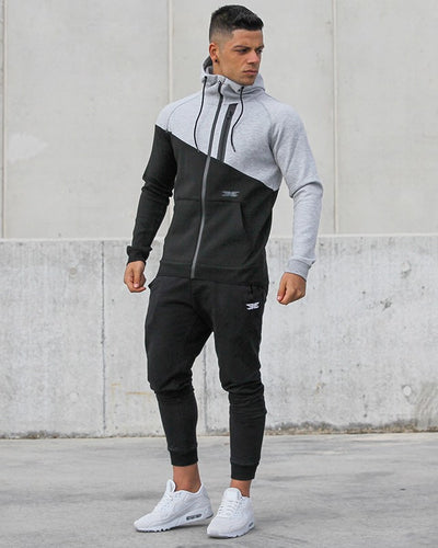 Elite X Zip Up - Black/Grey