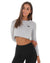 EE Long Sleeve Crop - Grey
