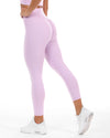 7/8 Touch Scrunch Tights - Pastel Purple