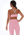 Excite Sports Bra - Pastel Pink