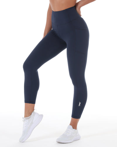 7/8 Control Ascend Tights - Navy