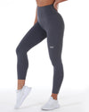 7/8 Control Tights - Slate Grey