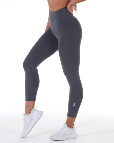 7/8 Control Ascend Tights - Slate Grey