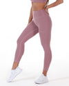 7/8 Touch Tights - Soft Rose