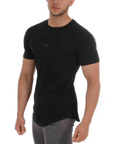 Banner Scoop Tee - Stealth