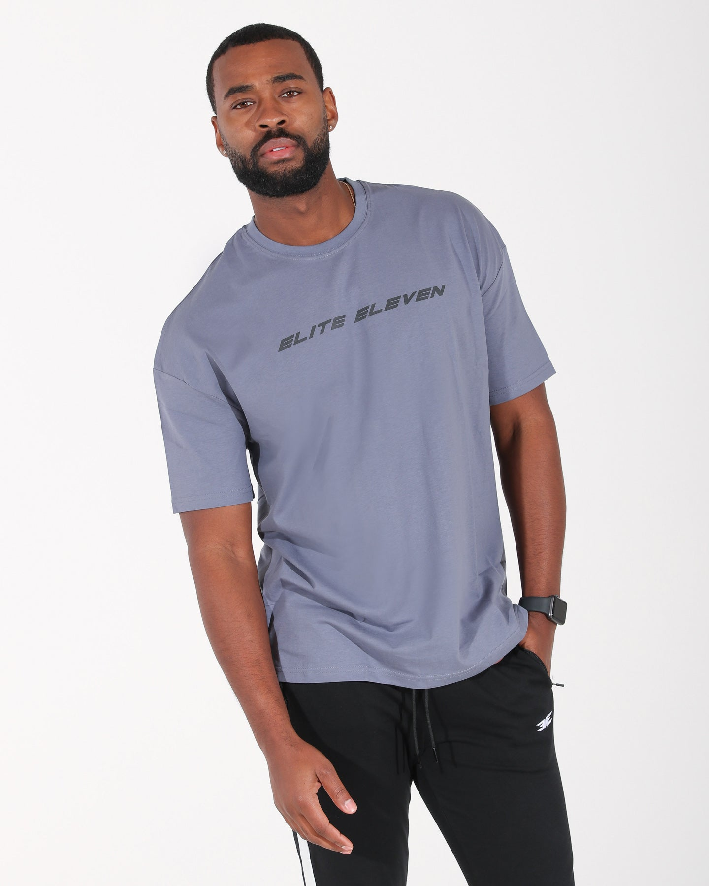 Oversized Speed Tee - Steel