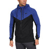 V-Panel Zip Up - Blue/Black