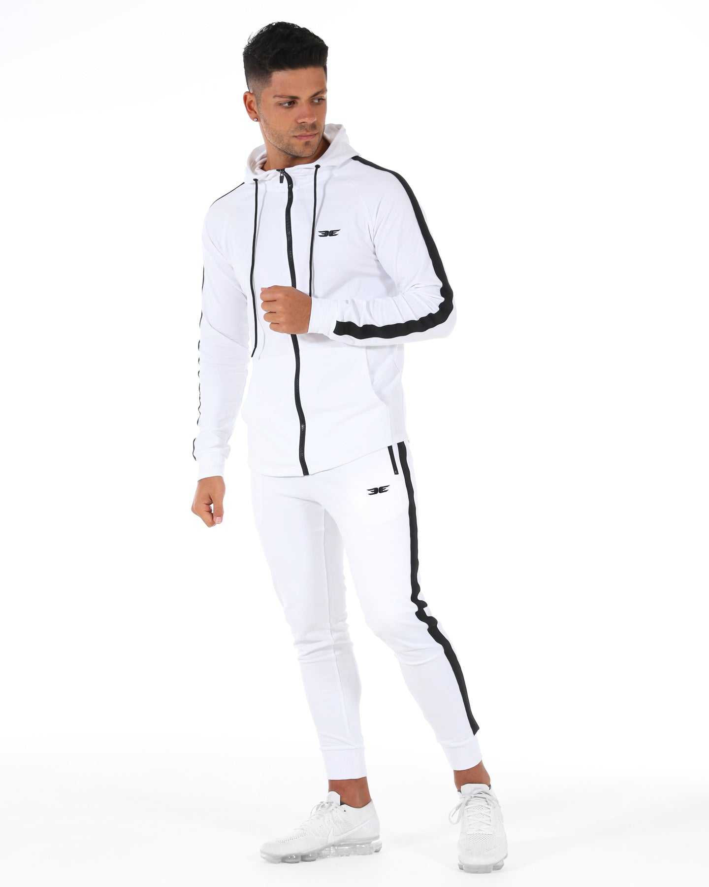 PWR Zip Up - White