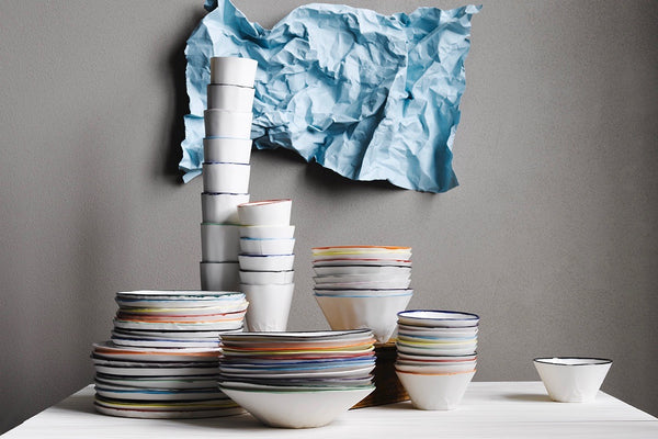 Examining crumpled porcelain with Hayden Youlley