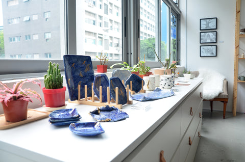 Unique ceramic homeware studio Singapore - Eat & Sip