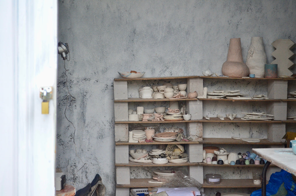 Derau made ceramic studio in Bali - Handmade tableware Singapore